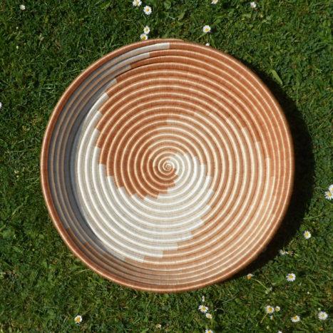 Natural swirls large tray /wall decoration