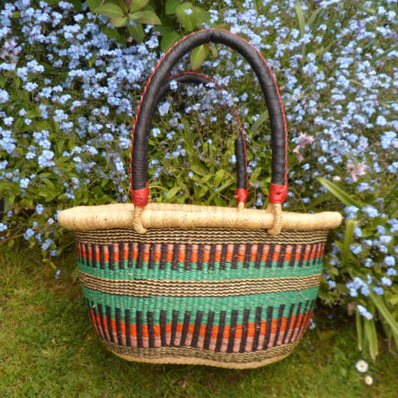 Oval shopping basket medium 10