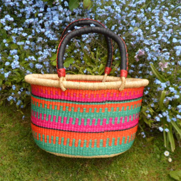 Oval shopping basket medium 4