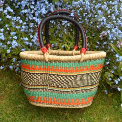 Oval shopping basket medium 5