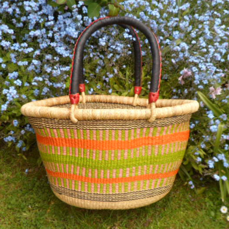 Oval shopping basket medium 6