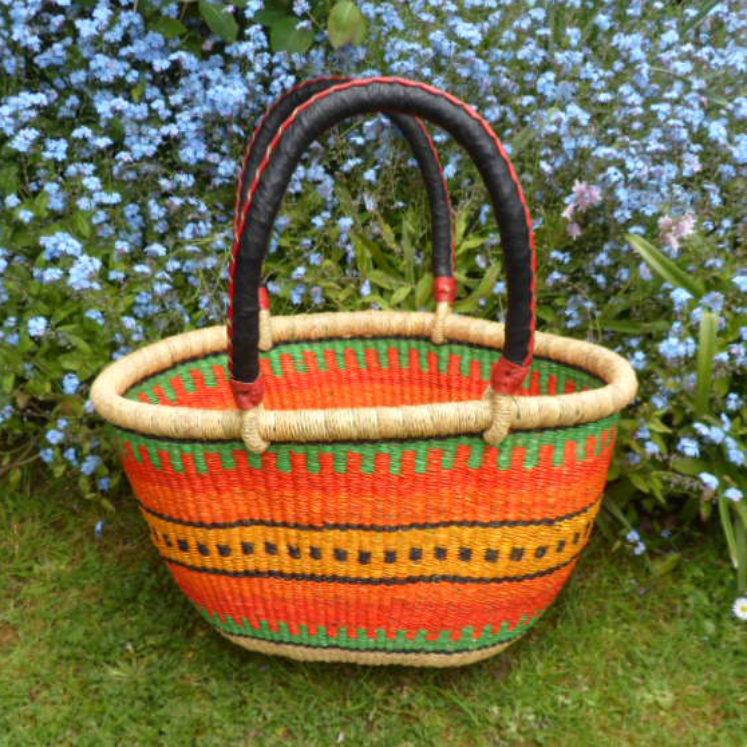 Oval shopping basket medium 8
