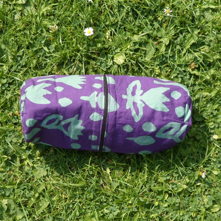 Supply case purple and green