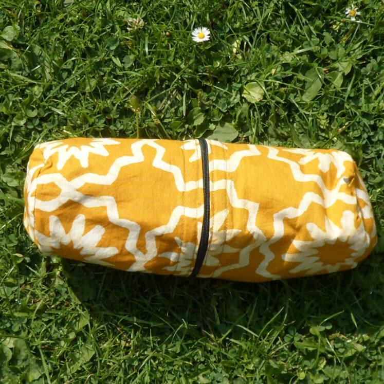 Supply case mustard