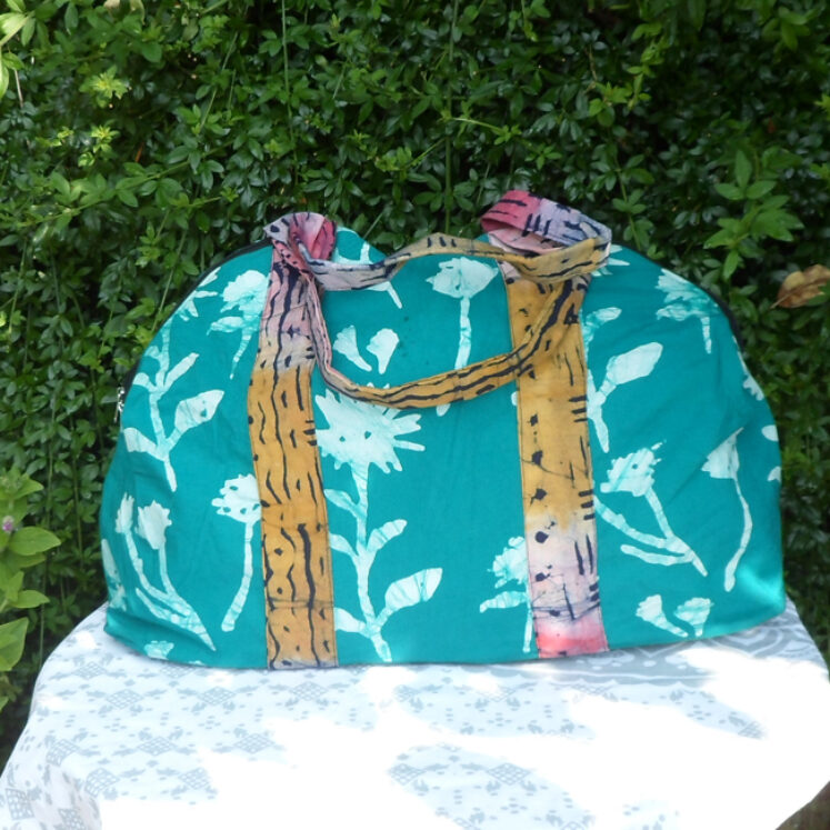 Weekend bag teal