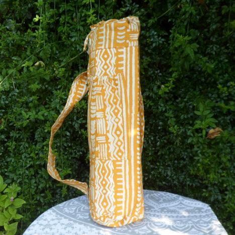 Yoga bag mustard