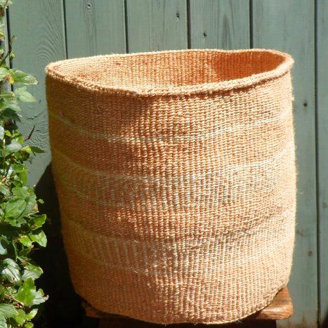 Extra large sisal basket XL19