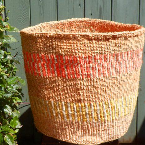 Extra large sisal basket XL7