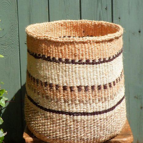 Large sisal basket L16