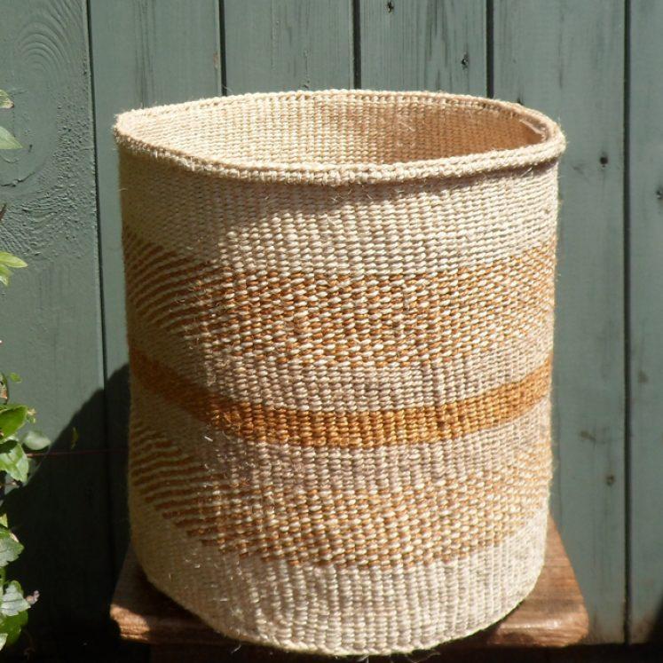 Large sisal basket L5