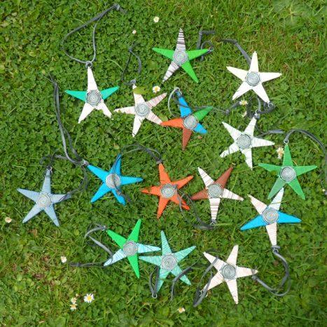 Telephone wire stars