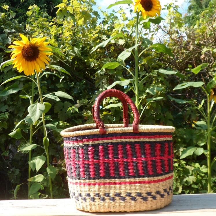 Oval shopping basket 12