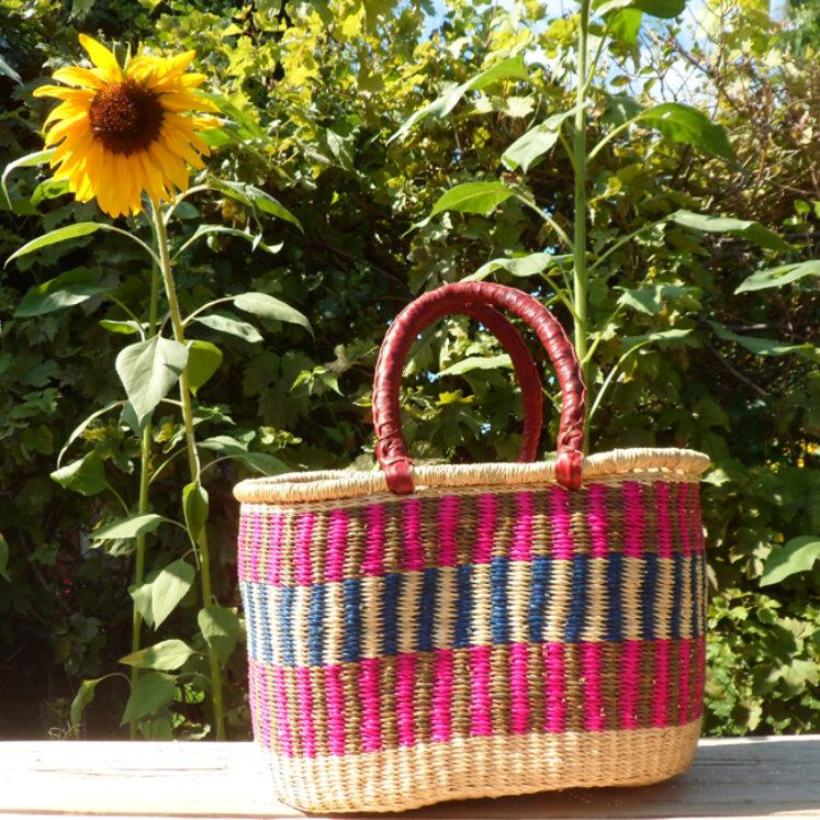 Oval shopping basket 11