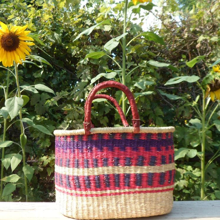 Oval shopping basket 9