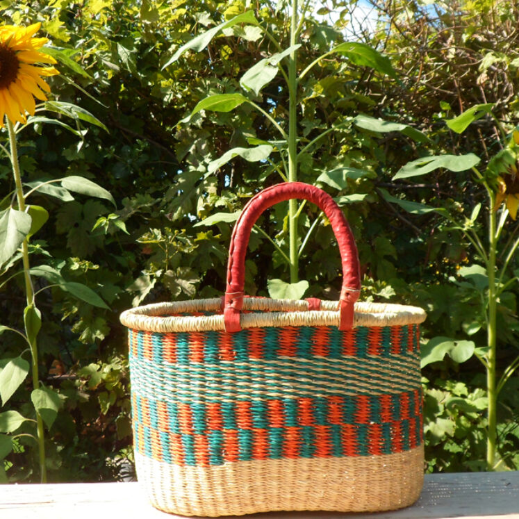 Oval shopping basket 7