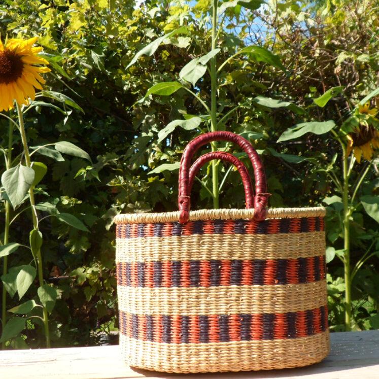 Oval shopping basket 4