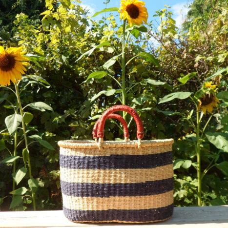 Oval shopping basket 2