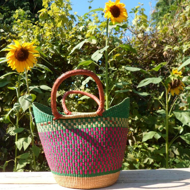 Sisal shopping basket 4