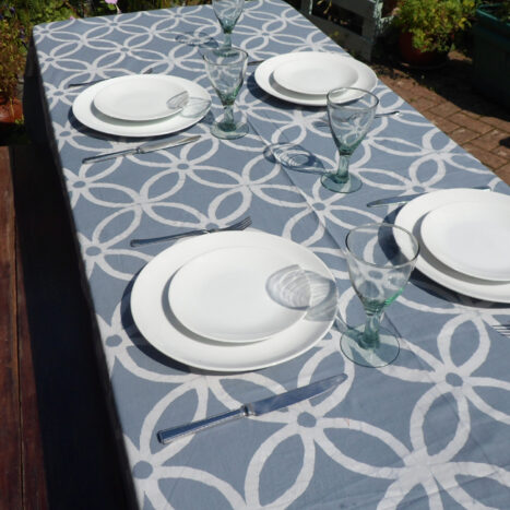 Table cloth grey