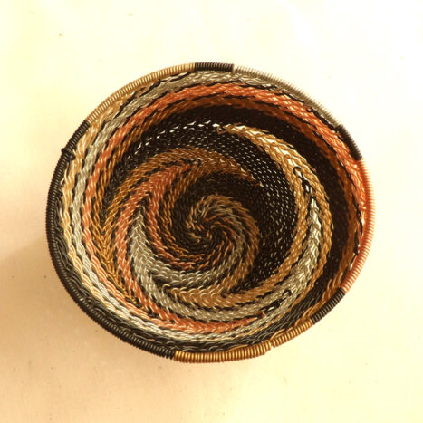 Telephone Wire Basket Metallics