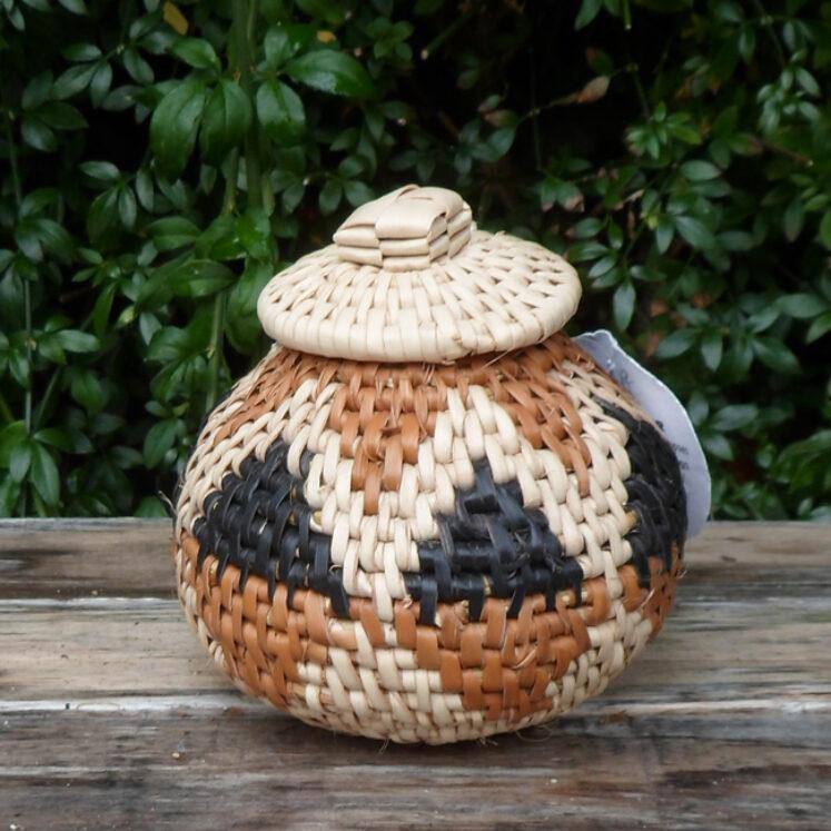 Zulu Ilala Palm Herb Baskets – 1